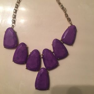 (Trying again) Kendra Scott Neon Violet Harlow